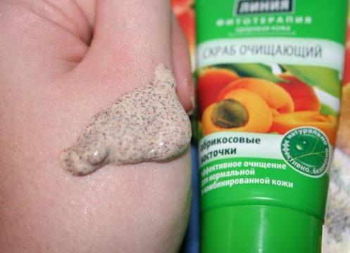 Hình ảnh thực tế của kem tẩy da chết Dòng Sạch